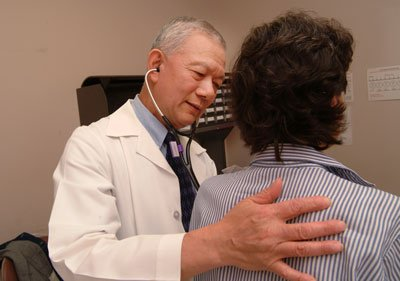 HK doctor inspects his patient